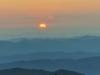 Lever de soleil au Mont Aigoual