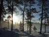 Lever de soleil en Finlande